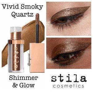 Travel size Stila Shimmer & Glow in Smoky Quartez